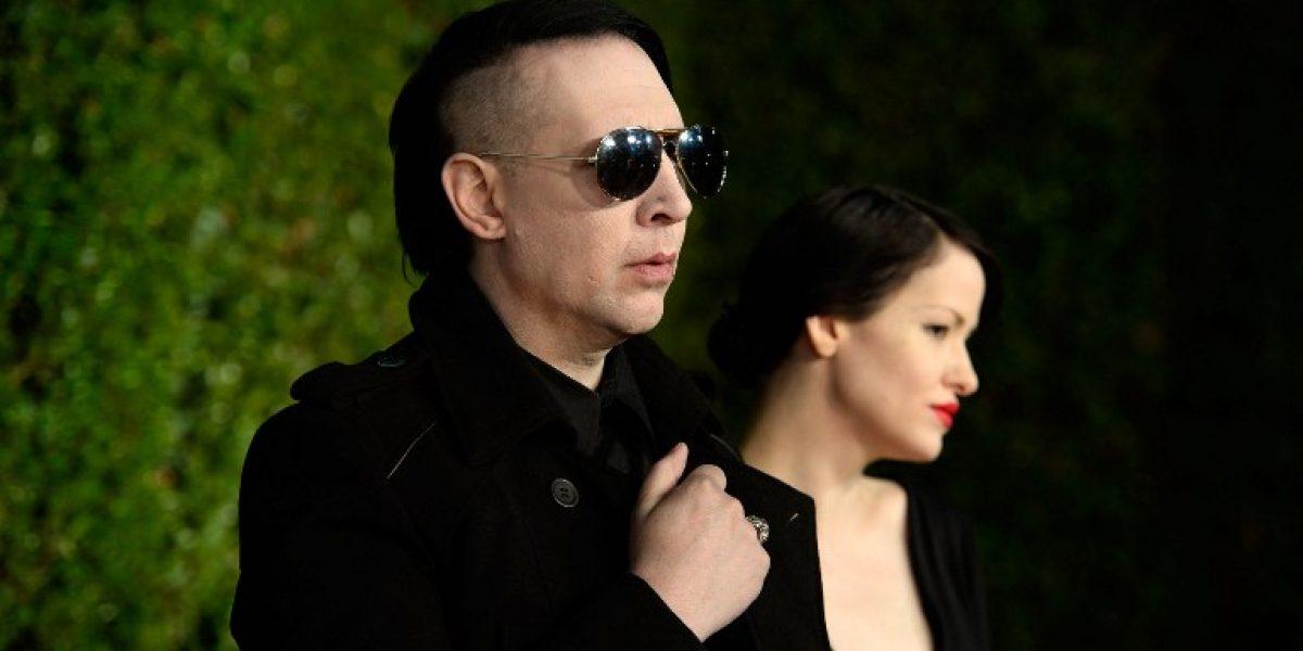 Irreconocible: Marilyn Manson sin maquillaje en su show de TV favorito