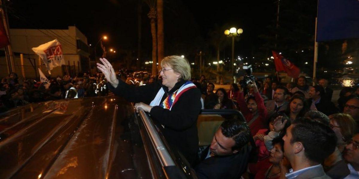 [FOTOS] La actividad de Bachelet en Arica por la cual no asistió al debate de la ANP