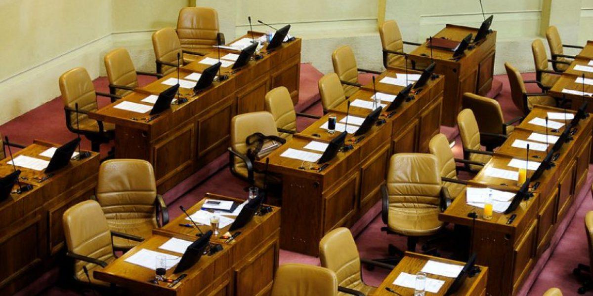 Galería: La escasa concurrencia en la Cámara de Diputados