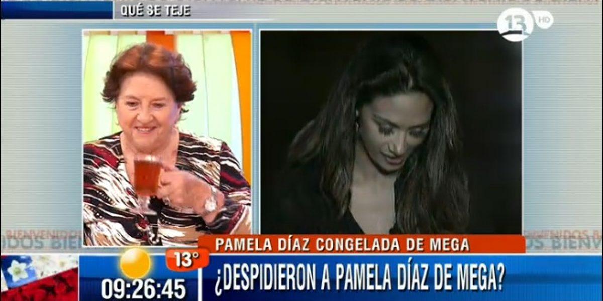 Dra. Cordero sobre salida de Pamela Díaz de Mega: