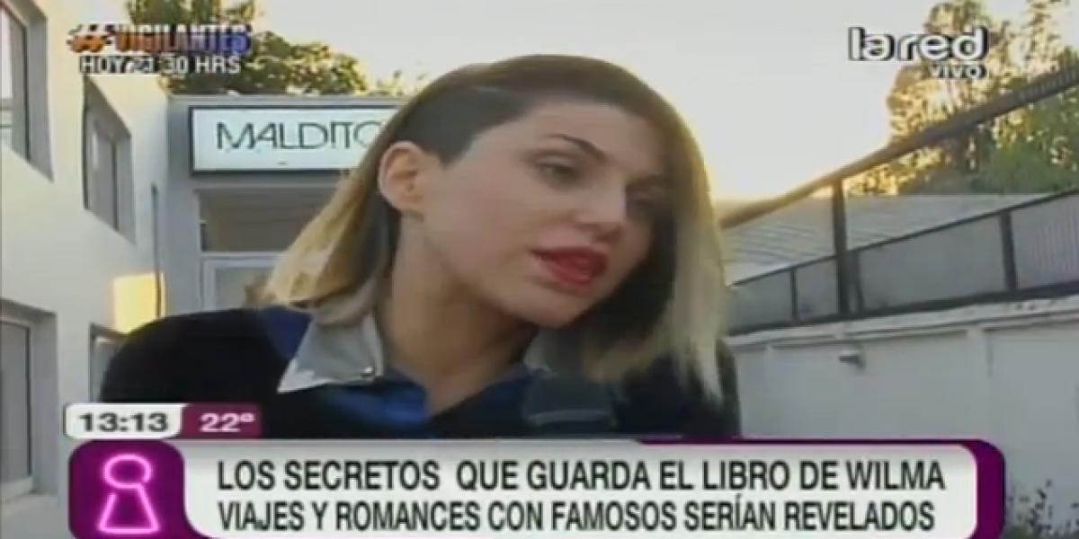 Libro de Wilma González revelará viajes y romances con famosos