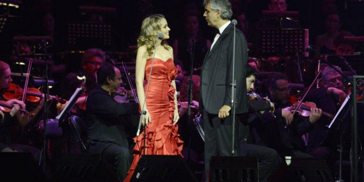 Andrea Bocelli encantó a 12 mil personas en el Movistar Arena