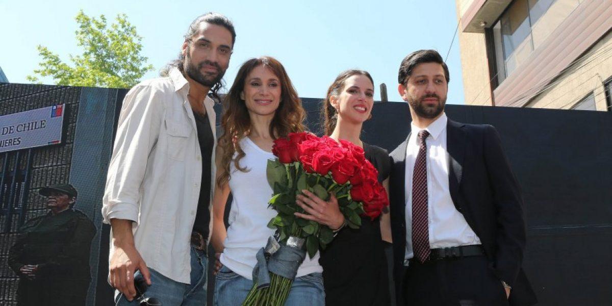 TVN lanzó en Patronato su nueva teleserie