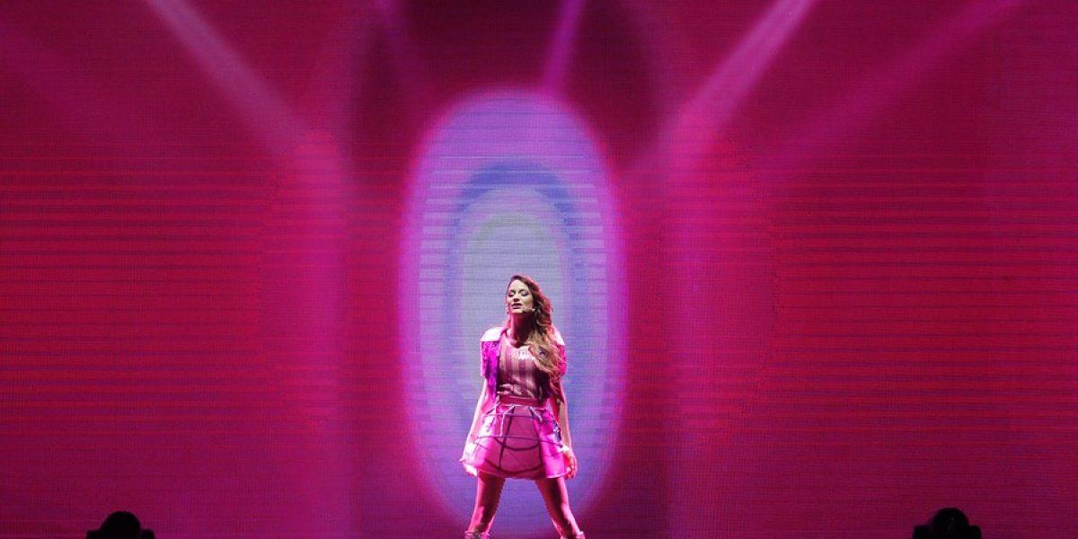 El fenómeno de Violetta se presentó en un Movistar Arena repleto