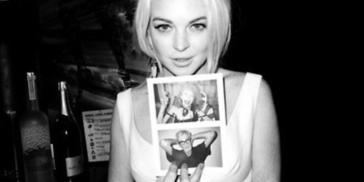La atrevida sesión de fotos de Lindsay Lohan para Terry Richardson