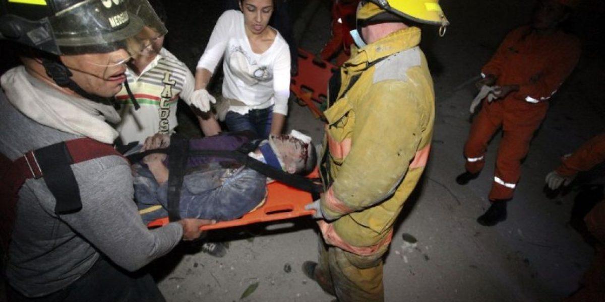 FOTOS: Derrumbe de edificio en Colombia deja 11 desaparecidos