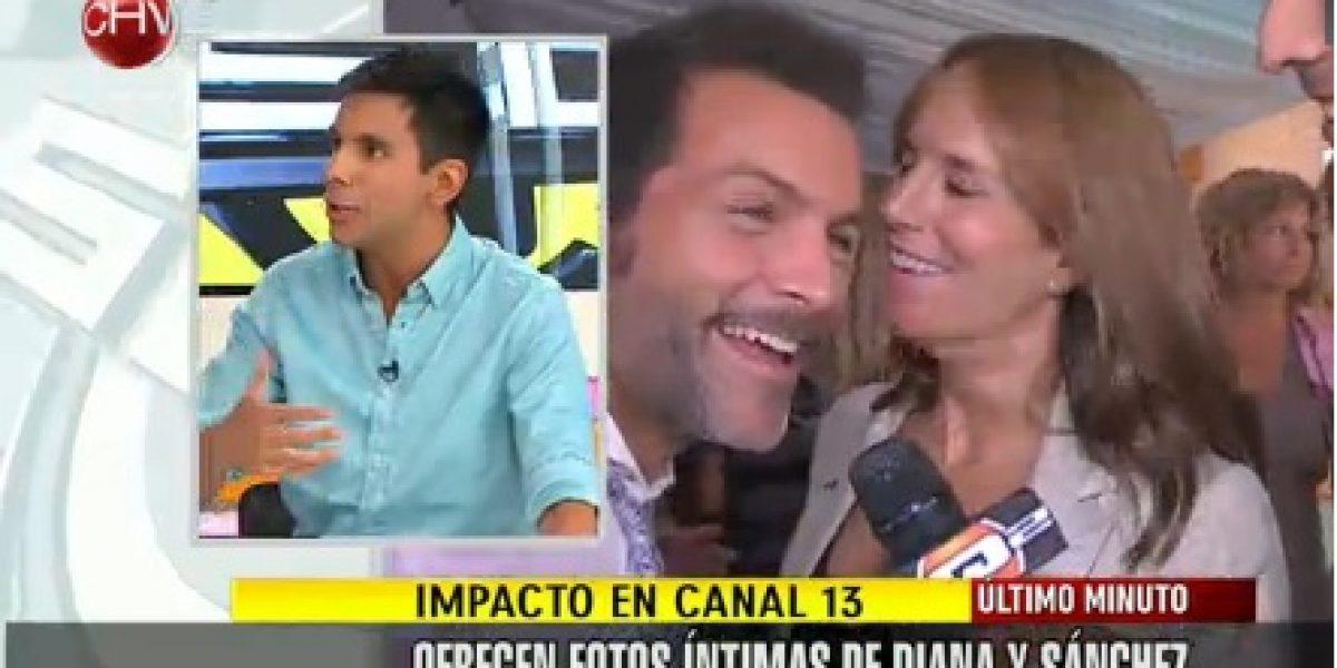 Ofrecen fotos íntimas de Diana Bolocco y Cristián Sánchez