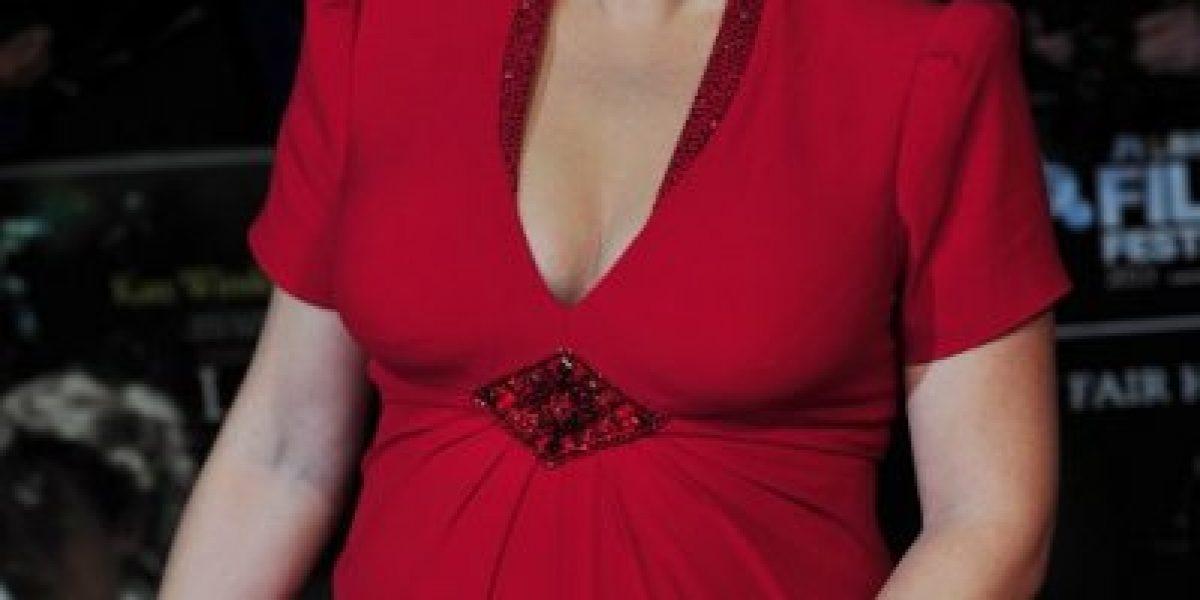 Kate Winslet luce su embarazo y acapara todas las miradas