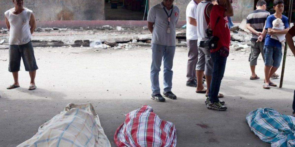 FOTOS: Ascienden a 67 los muertos en el terremoto del centro de Filipinas