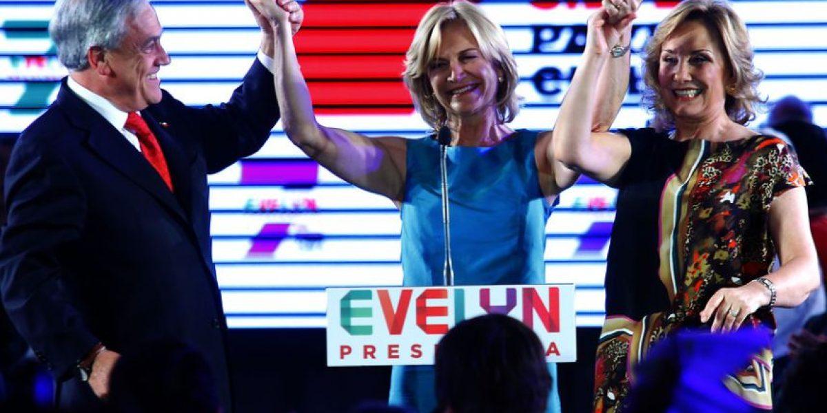 [FOTOS] Presidente Piñera despejó las dudas y llegó a acto de Matthei