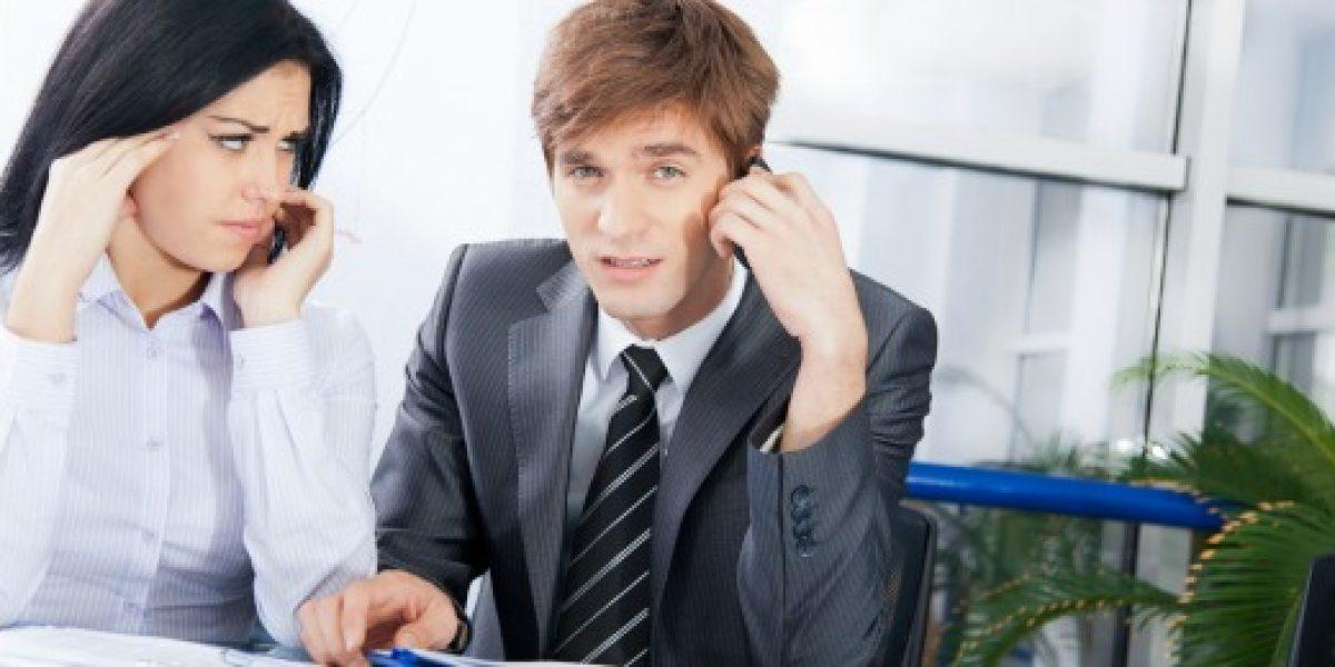 ¿Compañeros de trabajo jodidos? Tips para saber lidiar con ellos