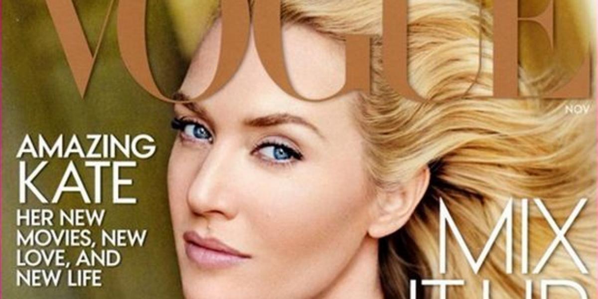 Exceso de Photoshop deja irreconocible a Kate Winslet
