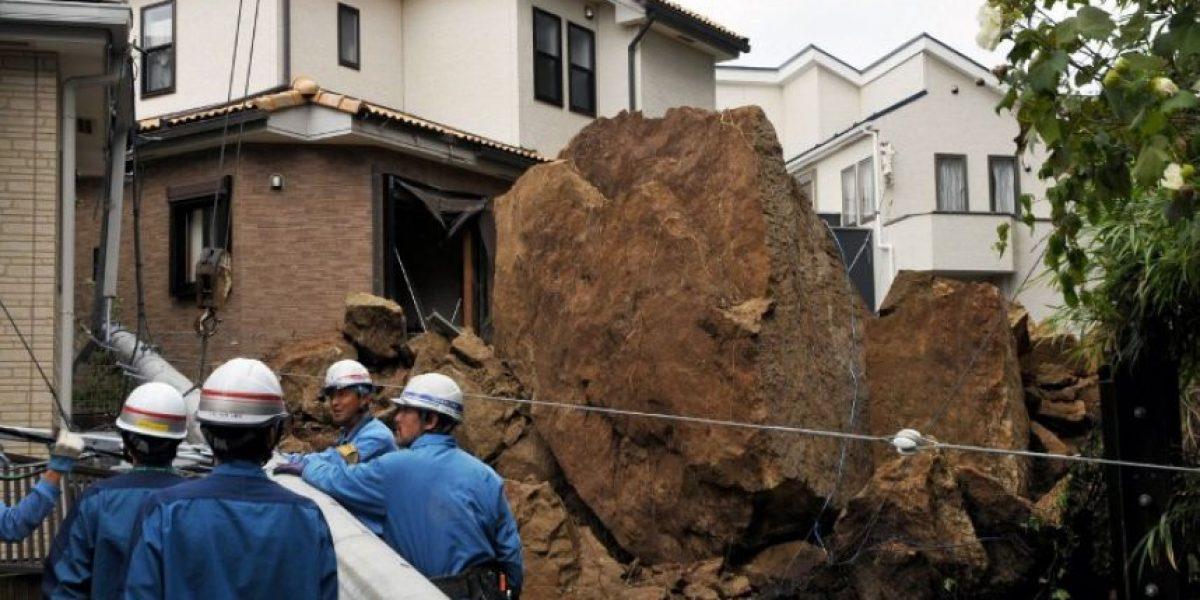 FOTOS: Al menos 17 muertos deja el paso del potente tifón Wipha que rozó Tokio