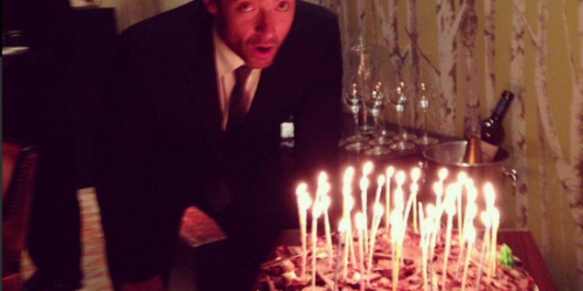 Hugh Jackman celebra sus 45 años haciendo inusual anuncio