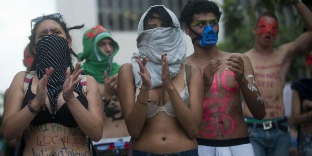 Estudiantes colombianos realizaron una masiva