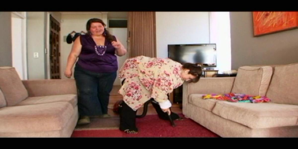 Karla Constant se transformó en obesa mórbida para