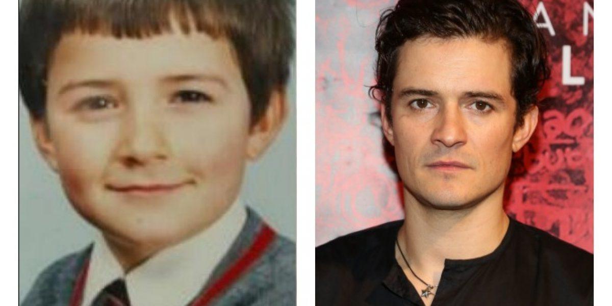 Así era yo cuando niño: Orlando Bloom