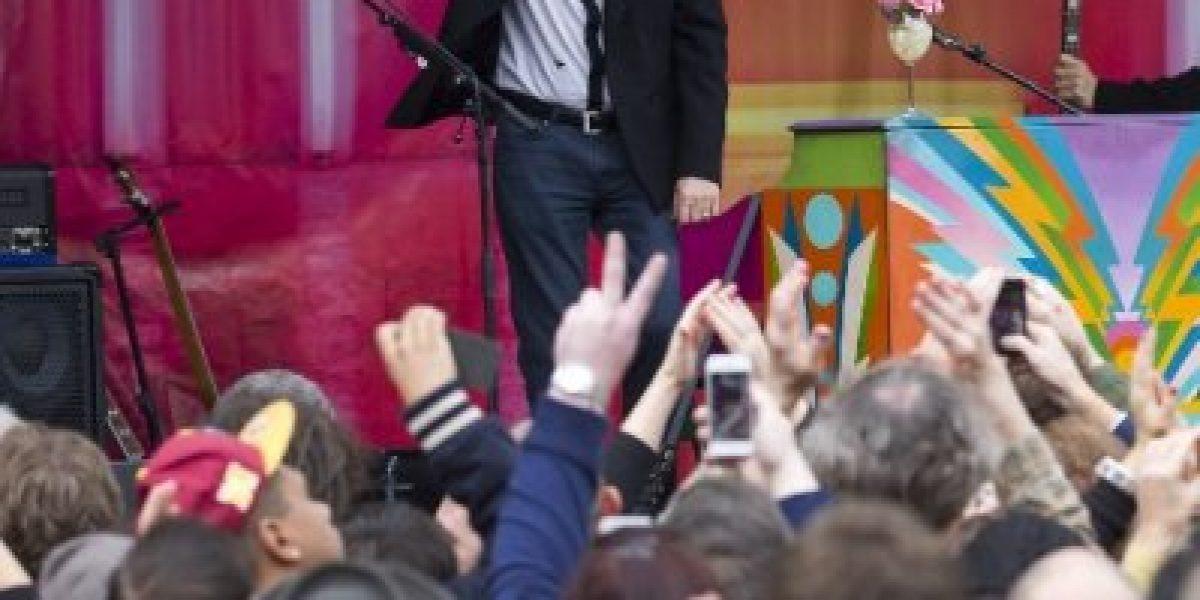 Paul McCartney da nuevo concierto sorpresa ahora en el centro de Londres