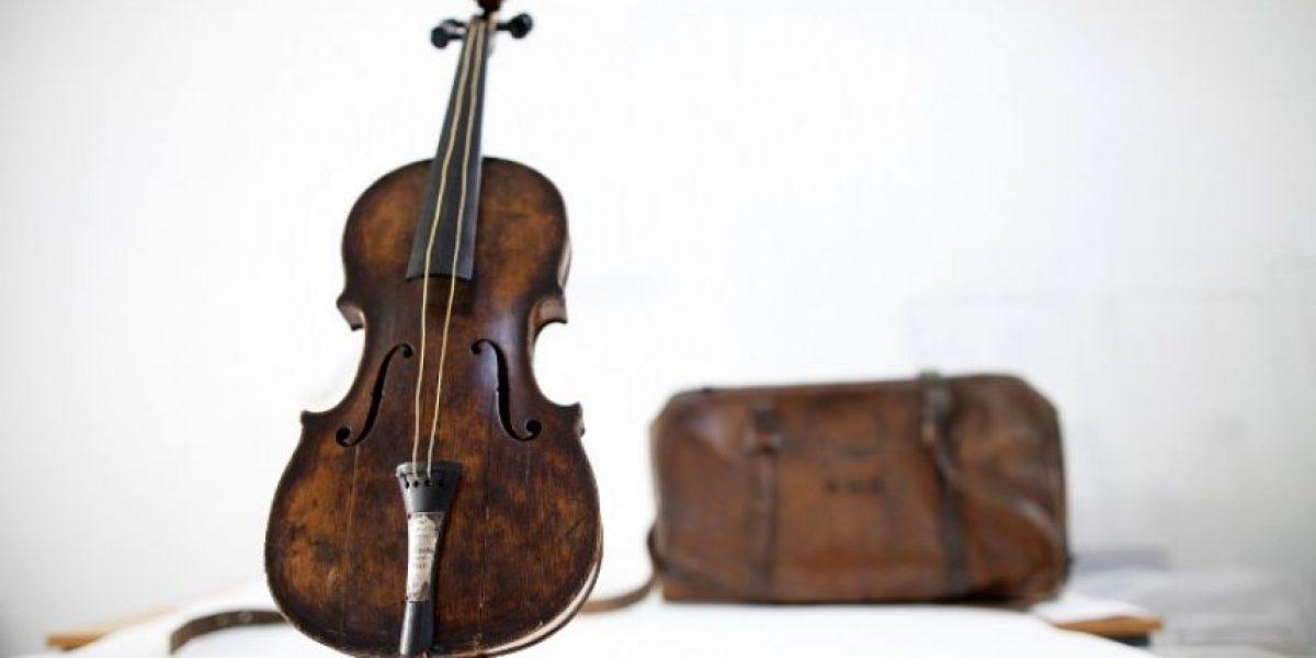 Por su particular historia este violín fue subastado en US$1,3 millones