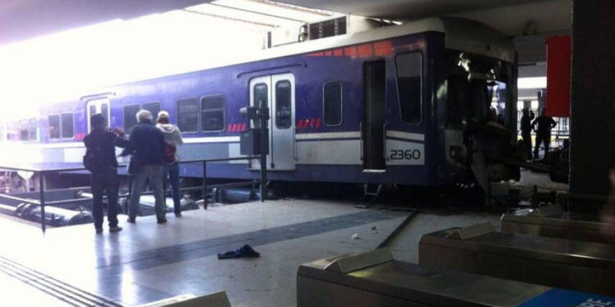 Choque de trenes en Argentina: Pasajeros intentaron agredir a chofer