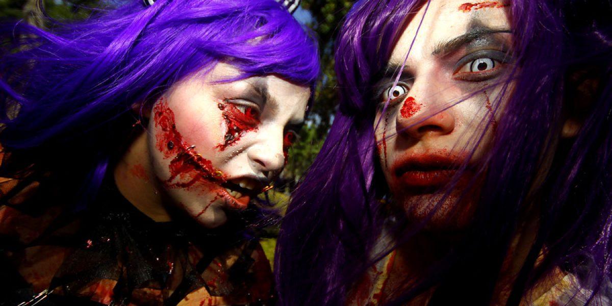 Estos deben ser los mejores disfraces en la Zombie Walk 2013