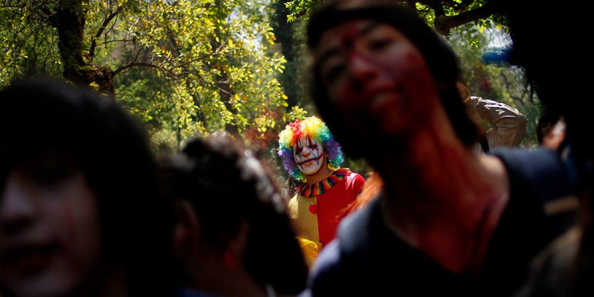 Miles marcharon disfrazados en la Zombie Walk 2013 en Santiago