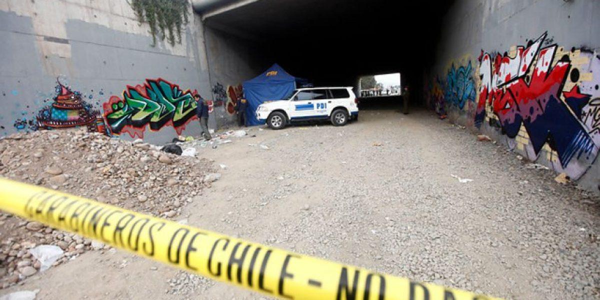 Imágenes del macabro hallazgo del cuerpo descuartizado y quemado en Santiago