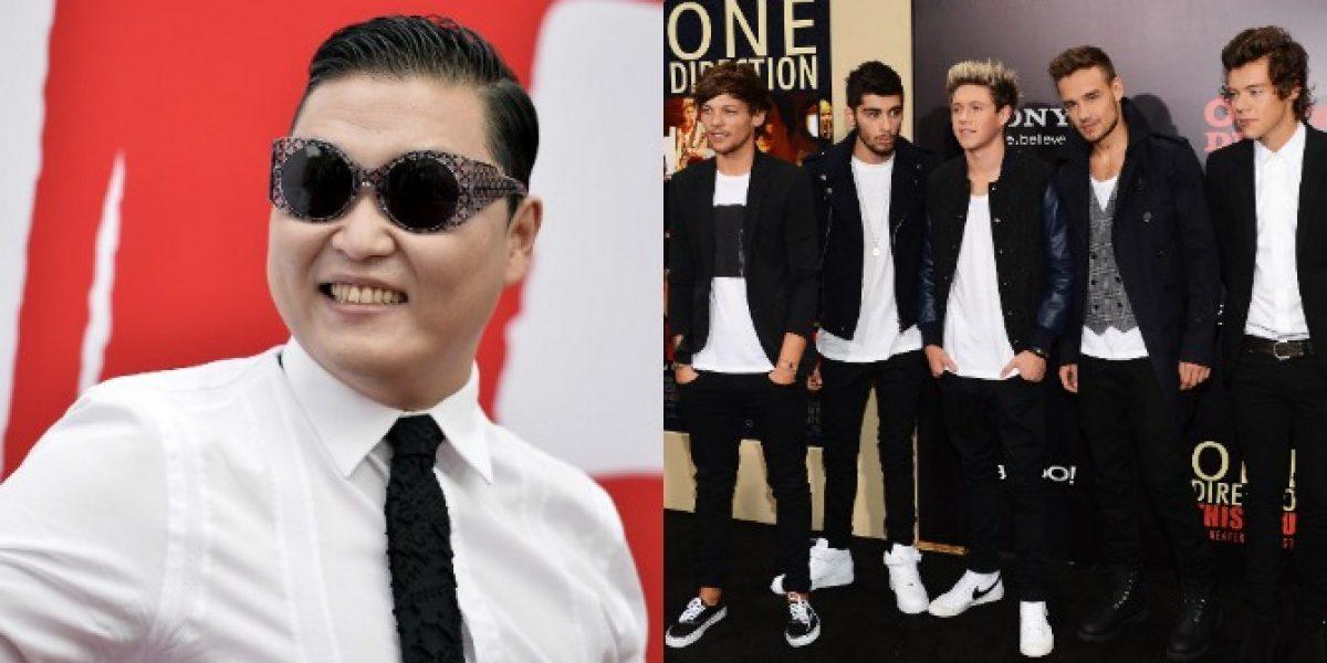 One Direction y PSY nominados a los Premios Youtube