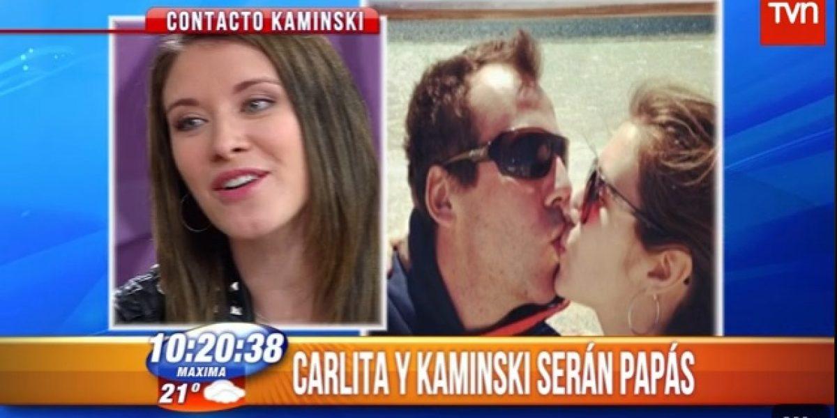 Carla Jara revela el sexo y nombre del hijo que espera