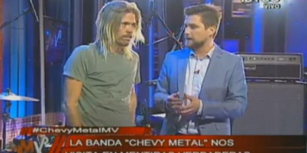 Baterista de Foo Fighters se presentó con su banda en