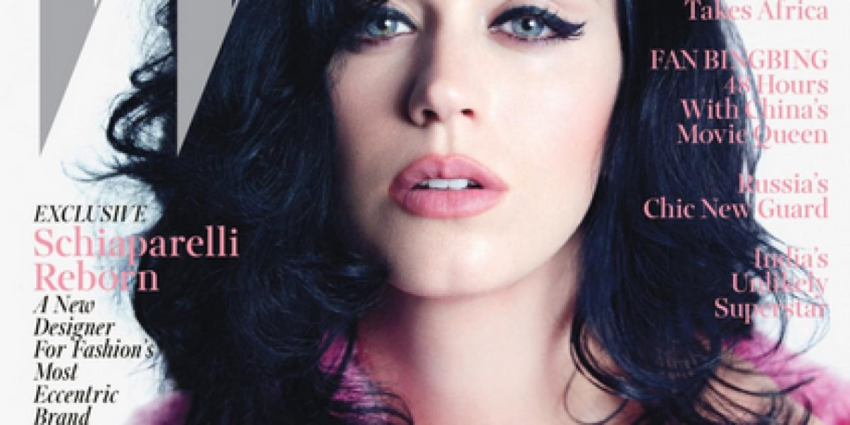 Katy Perry más sensual que nunca en W Magazine: Asume su relación con John Meyer