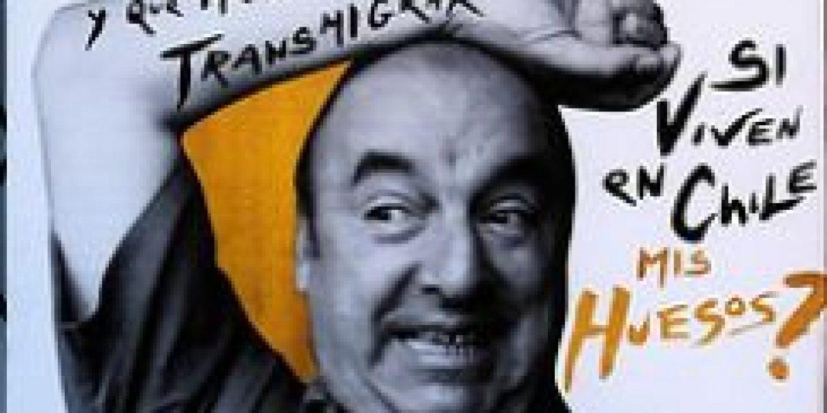 Imágenes: Neruda sorprende en Valparaíso en una intervención artística
