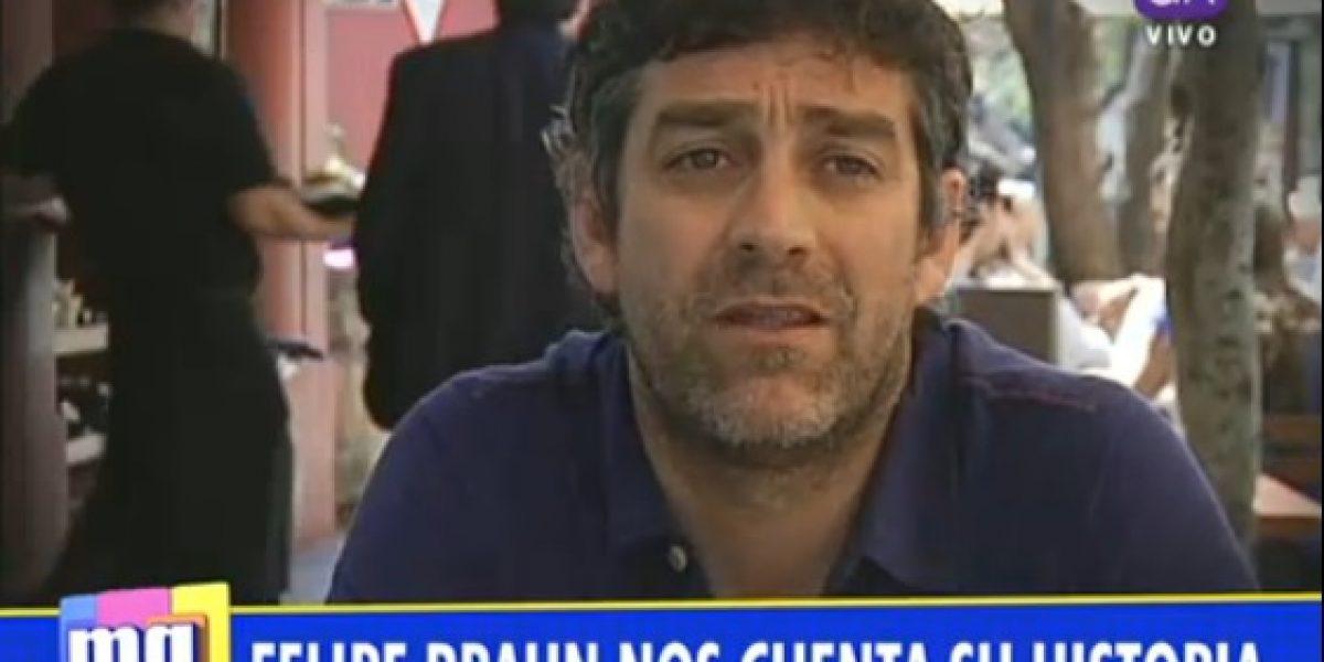 Felipe Braun habla por primera vez de su separación con Mane Swett