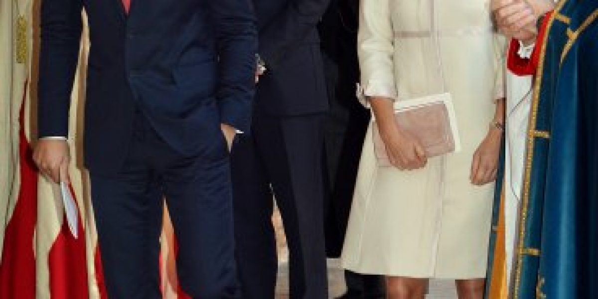 El look de Pippa Middleton acapara las miradas en bautizo del Príncipe George