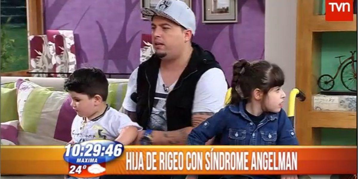 Rigeo revela que ha sufrido discriminación por enfermedad de su hija