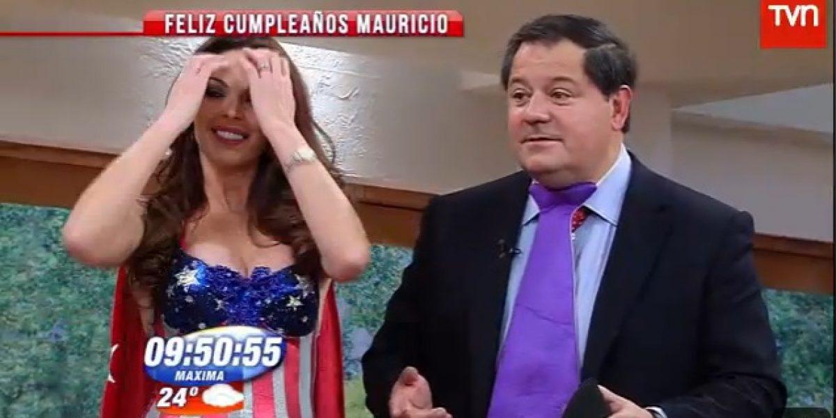 BDAT sorprende a Mauricio Bustamante con sexy regalo de cumpleaños