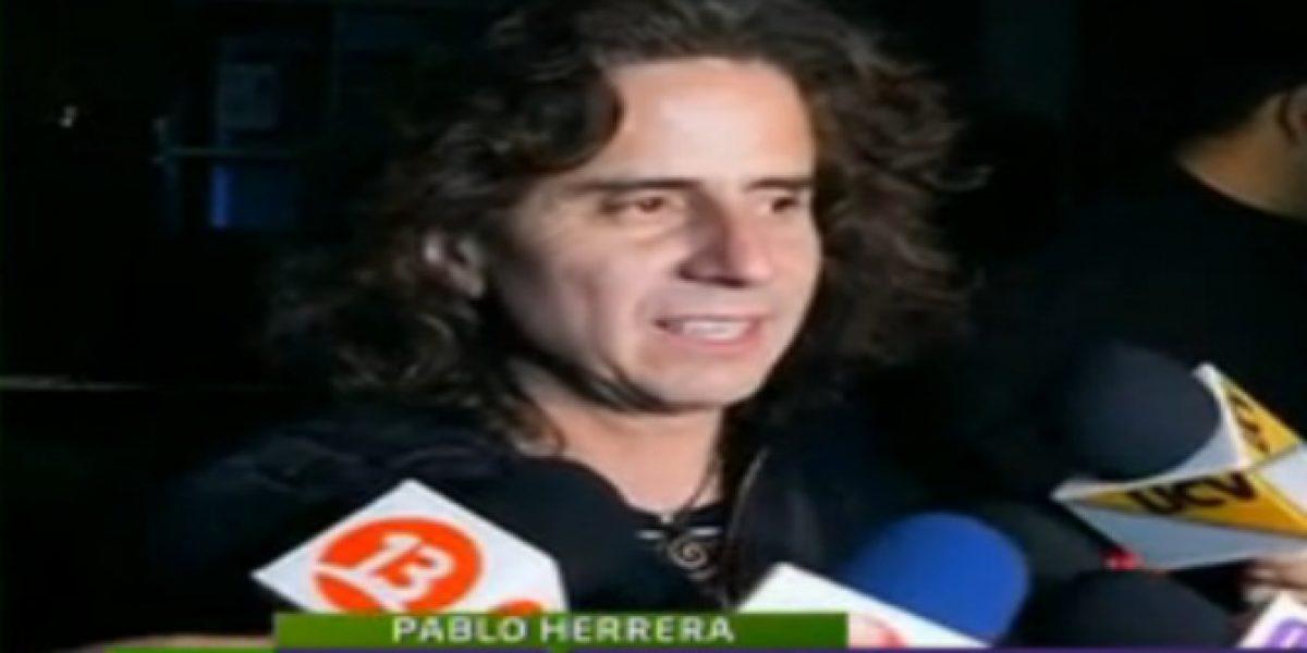 Pablo Herrera es detenido por conducir en estado de ebriedad
