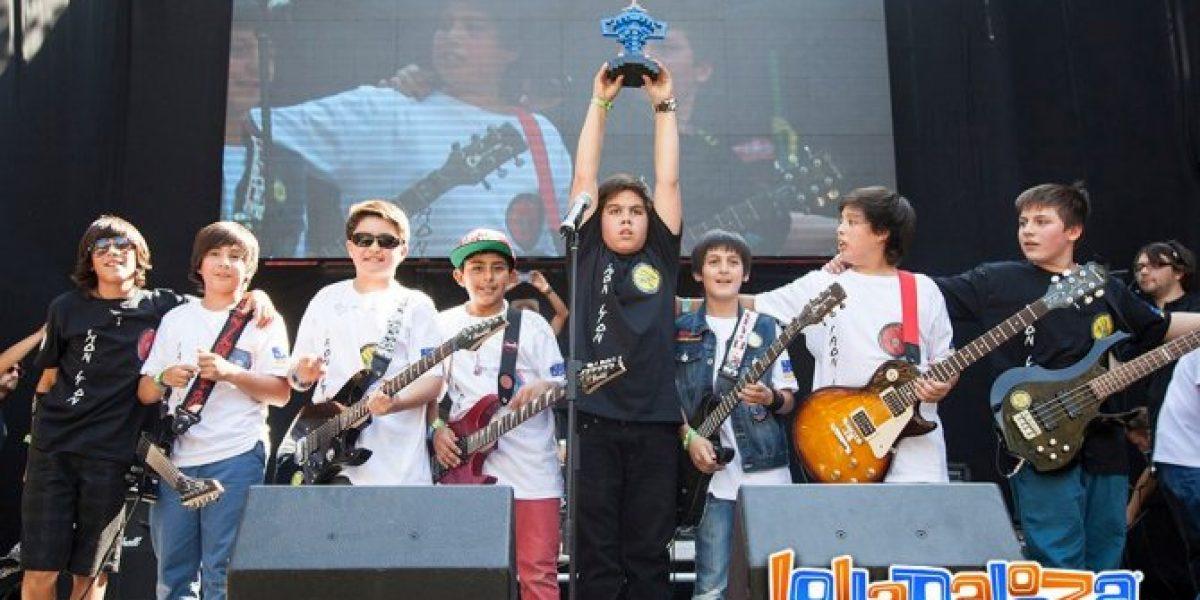 Lollapalooza Chile lanza concurso para buscar a la última banda de Kidzapalooza