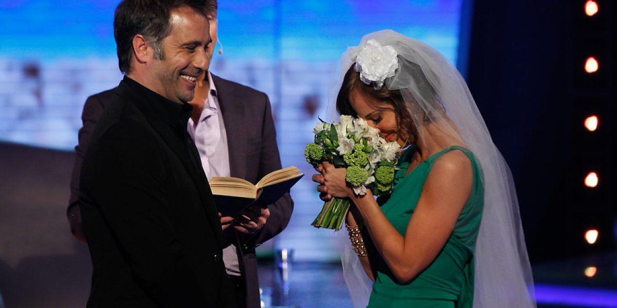 La cobertura del matrimonio de Diana Bolocco y Cristián Sánchez