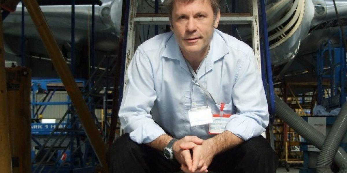 Parte venta de entradas para charlas de Bruce Dickinson en FIDAE 2014