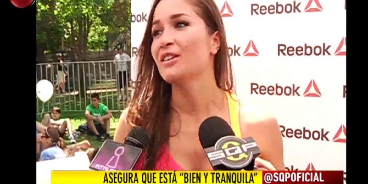 Francini reaparece en evento tras quiebre con Álvaro Gómez