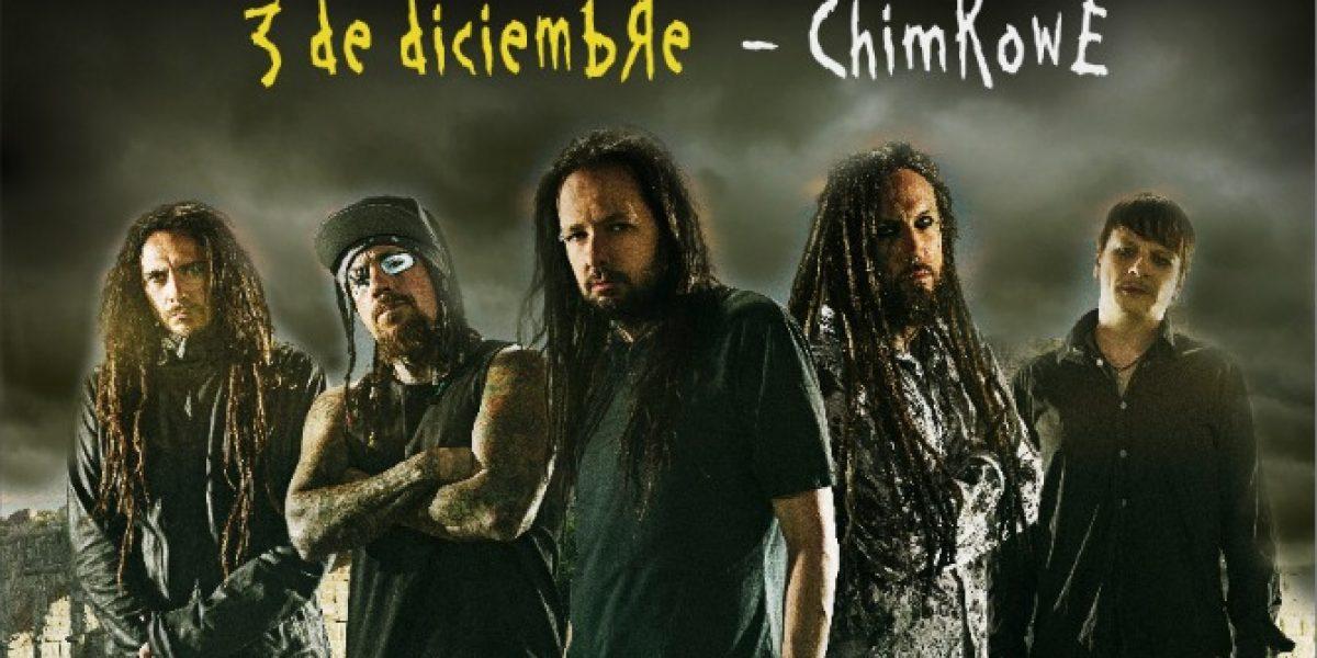 Korn regresa a Chile con su