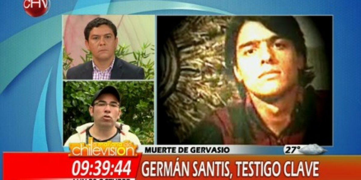 Tres matinales se enfrentan mostrando nuevos testigos en caso de Gervasio