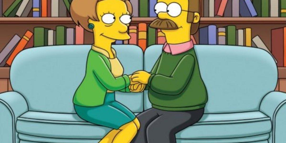 Los Simpson pierden a la voz de Edna Krabappel