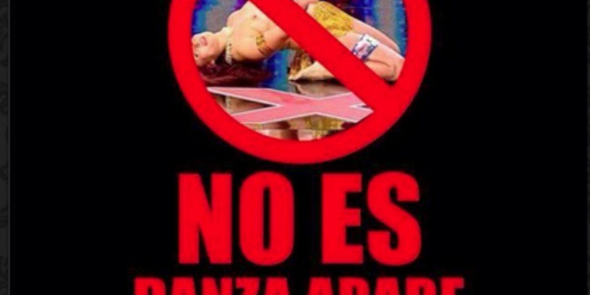 Bailarinas árabes convocan a manifestación en contra de odalisca de