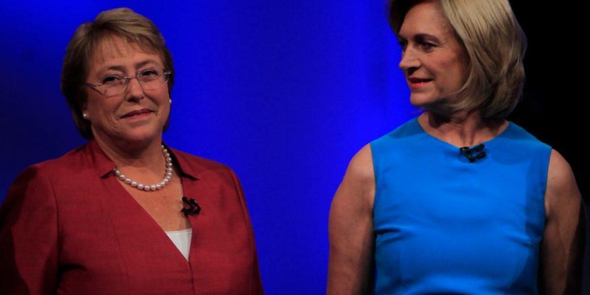 Fotos #DebateAnatel: Así fue el encuentro de Bachelet - Matthei