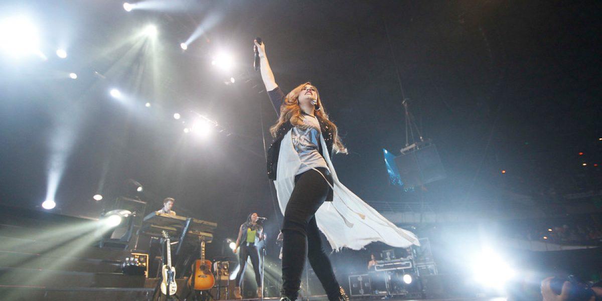 Demi Lovato regresa a Chile con su