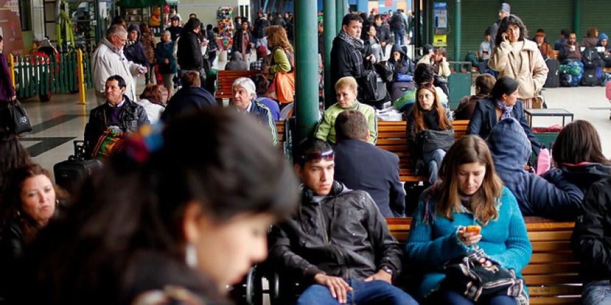 FOTOS: Terminales de buses congestionados por éxodo de pasajeros ante fin de semana largo