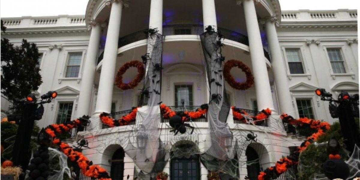 [FOTOS] La Casa Blanca también se prepara para Halloween