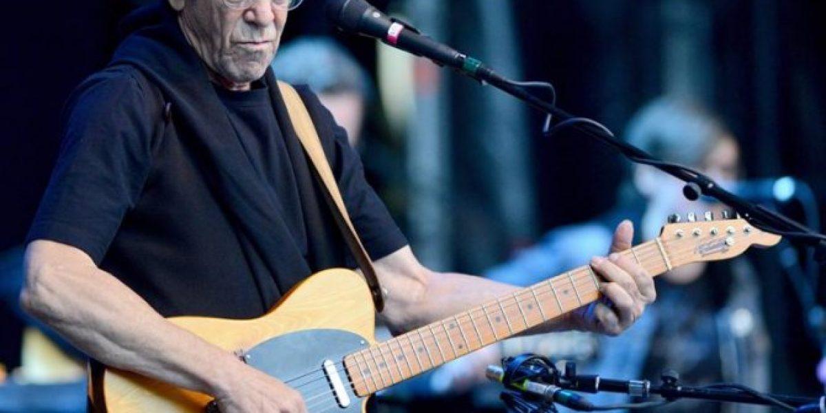 Lou Reed murió haciendo una postura